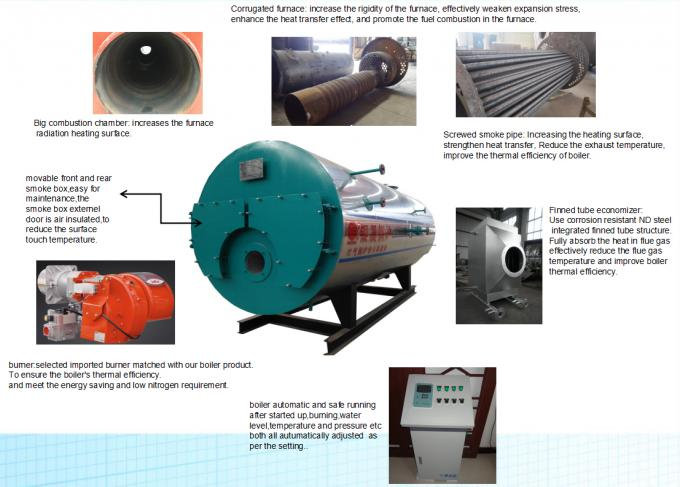Best Price 5 ton Industrial Gas Diesel Or Natural Gas Fired Steam Boiler For Pharmaceutical Industry