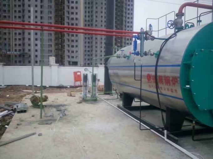 Horizontal 3 Pass Industrial Steam Boilers For Paper Box Carton Factory