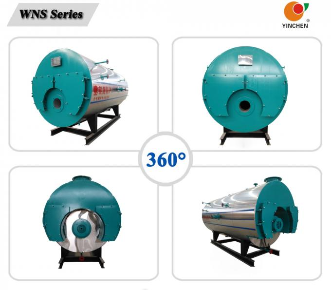High Efficiency Light Oil Fired Heating Boilers For Dry Cleaning Machine 4000kg/H