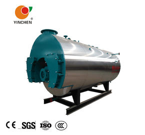 Pharmaceutical Industry Gas Fired Steam Boiler 1-2.5Mpa Rated Steam Pressure