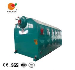 Double Drum Biomass Fired Steam Boiler Coal Burning Steam Output 4-20 T/H SZL Series