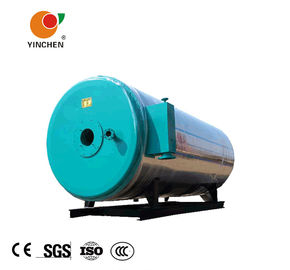 Diesel Natural Gas Fired Thermic Fluid Boiler Horizontal 0.6 Mpa 320C Blue Red Color