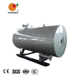 Cylindrical Industrial Steam Boilers Four Return Design With High Efficiency