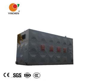Black Biomass Fired Thermal Oil Heater 350C Max Working Temperature