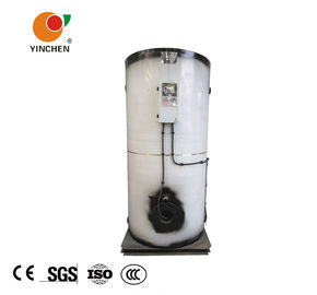 100 Kg 200 Kg Vertical Water Tube Boiler / Gas Fuel High Efficiency Steam Boiler