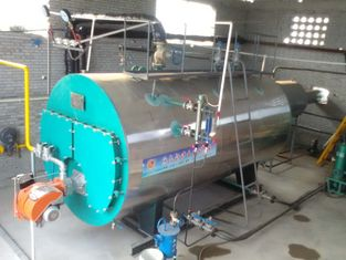 WNS 2tph Heavy Oil Steam Boiler Horizontal For Greenhouse Heating System
