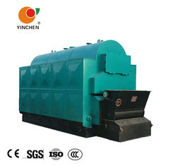 Industrial Fixed Grate Wood Chip Steam Boiler Three Pass For Medicine Industry