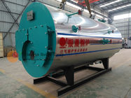 0.25-5 5kw Oil Fired Hot Water Boiler , Horizontal Fire Tube Boiler ZWNS