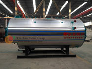 0.5-20 T/H High Efficiency Natural Gas Steam Boiler Three Return Fire Tube