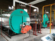 Automatic Horizontal Fire Tube Boiler / Propane Fired Steam Boiler For Textile Mill