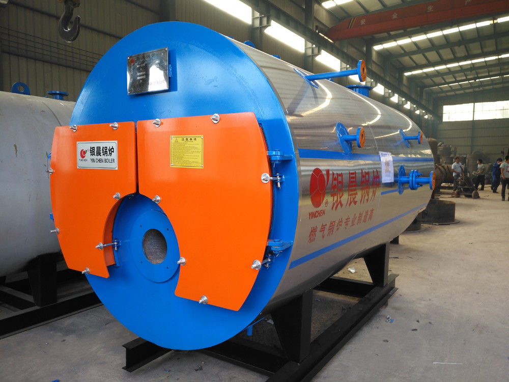 Horizontal Type Industrial Natural Gas Boiler For Textile Industry 1-20t/H