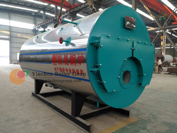 Small Size Gas Fired Hot Water Boiler / Fire Tube Boiler And Water Tube Boiler