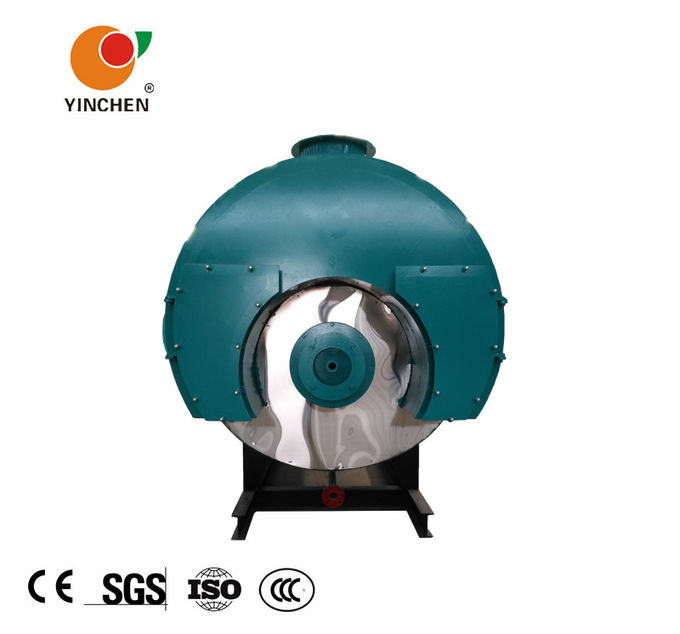 Fuel Oil Fired Steam Boiler Wet Back Inner Combustion Quick Steam 1T-10T/H